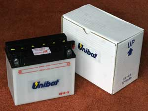 CB16B Motorcycle battery