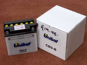 CB9-B Motorcycle battery new