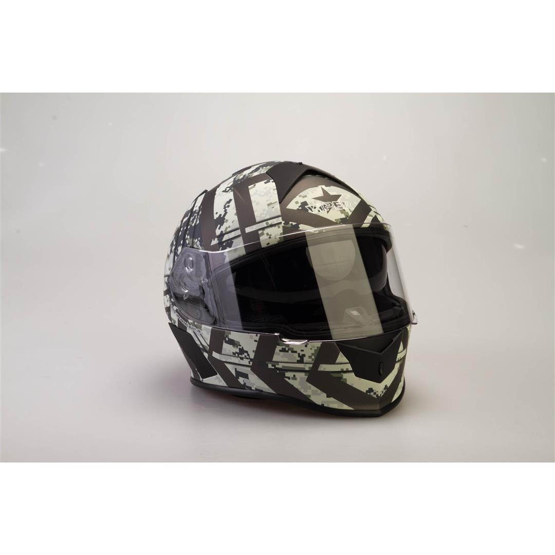 Viper RSV8 Full Face Helmet Combat Extra Large new
