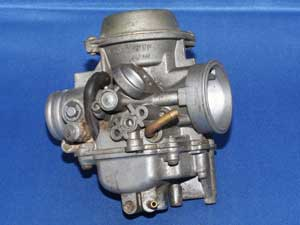 Carburettor choke control missing